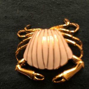 Crab pin tiny vintage Crab pin